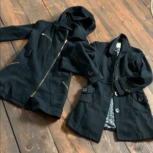 Jackets & Blazers - Two black pea coats for price of one!!!
